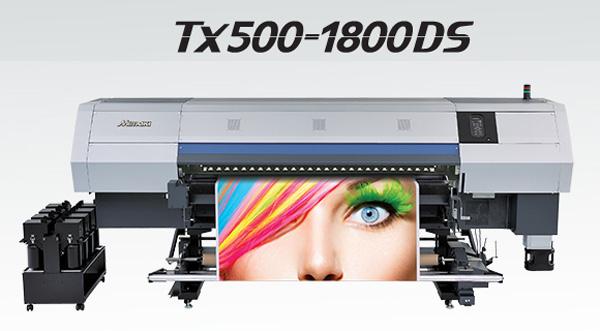MIMAKI IMPRESORA GRAN FORMATO TEXTIL SERIE TX500-1800